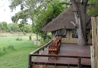 Luxury safari tent in he Timbavati Reserve