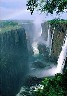 Visit one of the natural wonders of the word - Victoria Falls