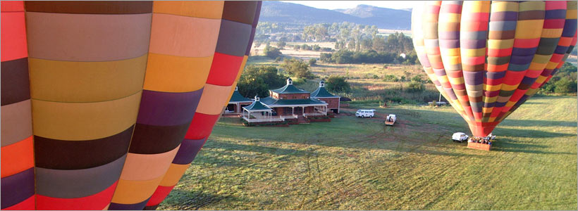 Hot air ballooning safari with Bill Harrops