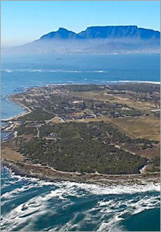 Visit Robben Island, where Nelson Mandela spent 18 of his 27 prison years