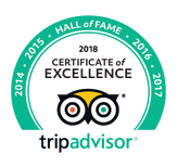 Trip Advisor Hall of Fame 2018 - Go SAfari